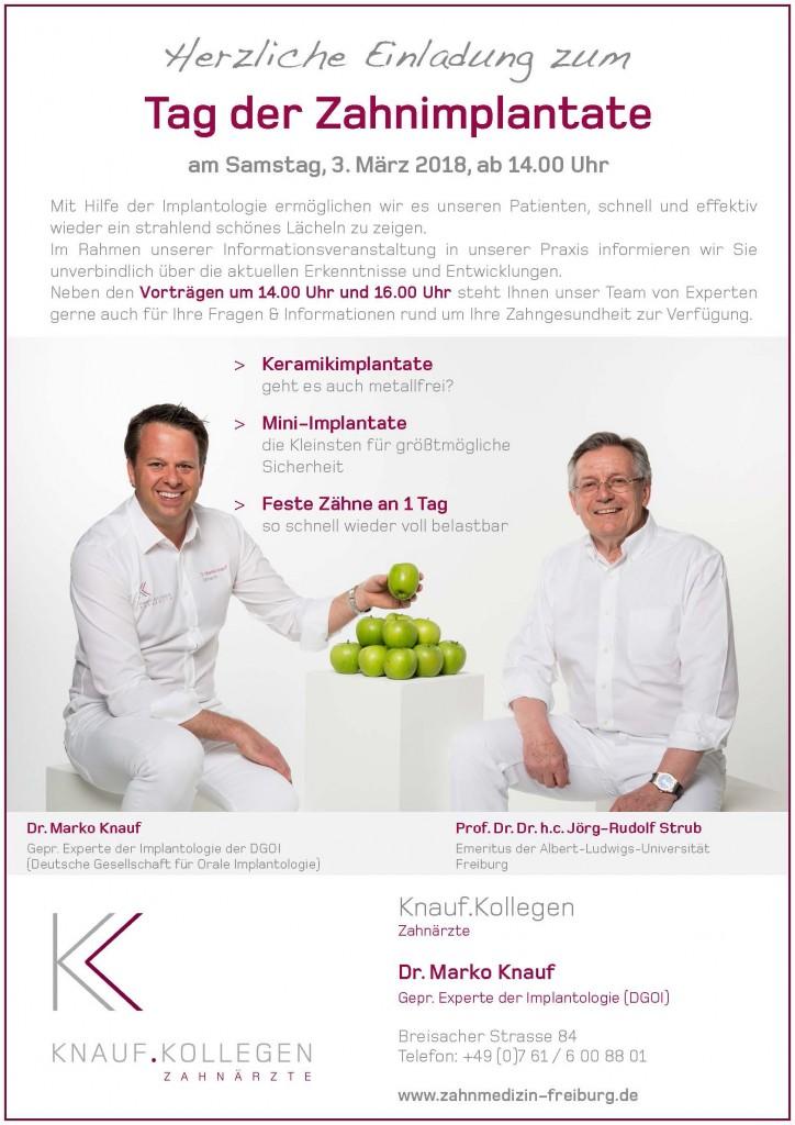 18.03.03 Info-Tag Zahnimplantate