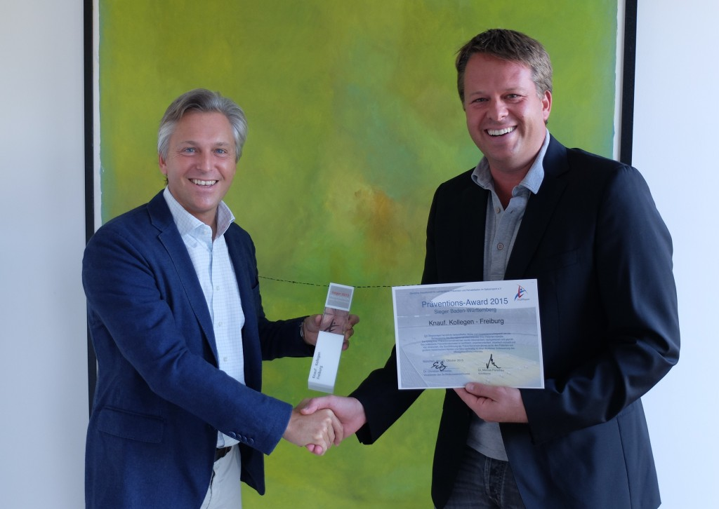 Präventions-Award 2015